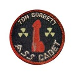 "Tom Corbett Ass Cadet Patch - Big 3.5"" Button"
