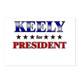 KEELY for president Postcards (Package of 8)