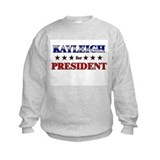 KAYLEIGH for president Jumpers