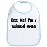 Kiss Me: Technical Writer Bib