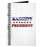 KASSIDY for president Journal