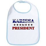 KARISSA for president Bib