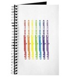 Flutes 7 Rainbow Journal