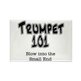 Trumpet 101 Rectangle Magnet (100 pack)