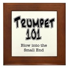 Trumpet 101 Framed Tile