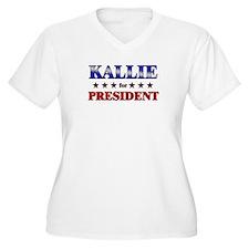 KALLIE for president T-Shirt