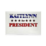 KAITLYNN for president Rectangle Magnet (10 pack)