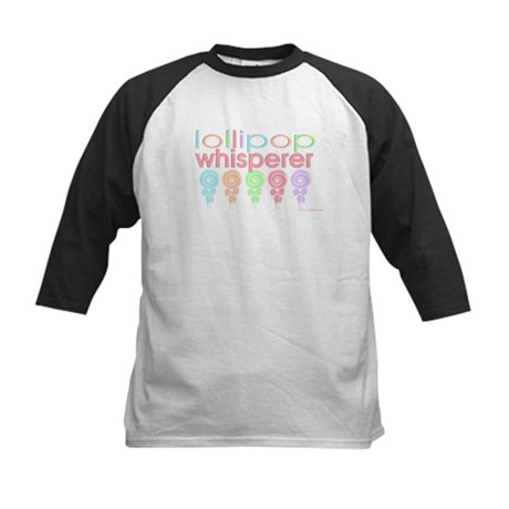 Lollipop Whisperers Kids Baseball Jersey