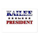 KAILEE for president Postcards (Package of 8)