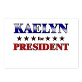 KAELYN for president Postcards (Package of 8)