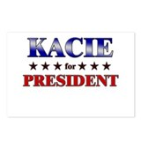 KACIE for president Postcards (Package of 8)