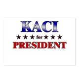 KACI for president Postcards (Package of 8)