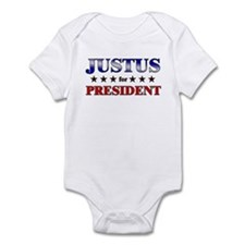 JUSTUS for president Infant Bodysuit