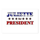 JULIETTE for president Postcards (Package of 8)