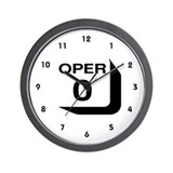 Telephone Operator Wall Clock
