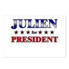 JULIEN for president Postcards (Package of 8)