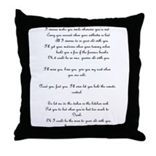 Adam sandler Throw Pillow