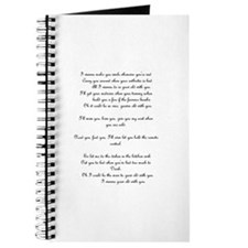 Cute The wedding singer Journal