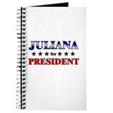 JULIANA for president Journal