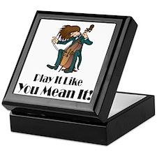 Play The Cello Keepsake Box