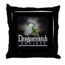 """Dragonwatch"" Throw Pillow"