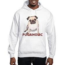 Pugaholic -Fawn Hoodie