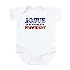JOSUE for president Infant Bodysuit
