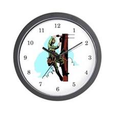 Electrician / Lineman Wall Clock