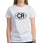 Costa Rica Euro Oval Women's T-Shirt