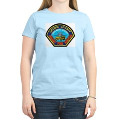 John Wayne Airport Fire Women's Light T-Shirt
