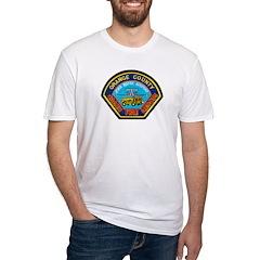 John Wayne Airport Fire Fitted T-Shirt