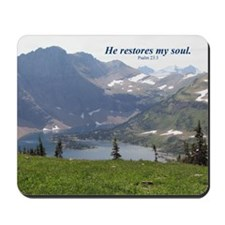 """Psalm 23"" Inspirational Mousepad"