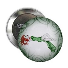 "Scarlett Imperfection Elf 2.25"" Button (10 pack)"