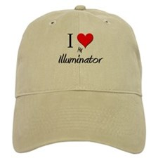 I Love My Illuminator Baseball Cap