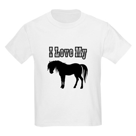 Love My Pony Kids Light T-Shirt