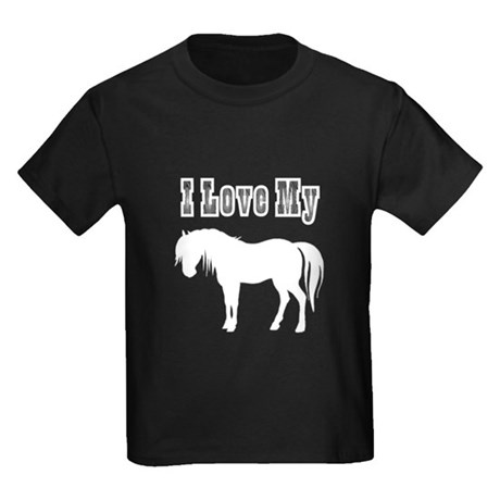 Love My Pony Kids Dark T-Shirt