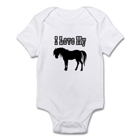 Love My Pony Infant Bodysuit