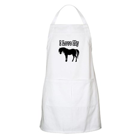 Love My Pony BBQ Apron
