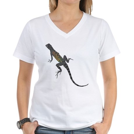 Lizard Women's V-Neck T-Shirt