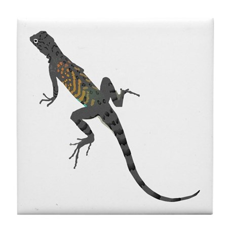 Lizard Tile Coaster