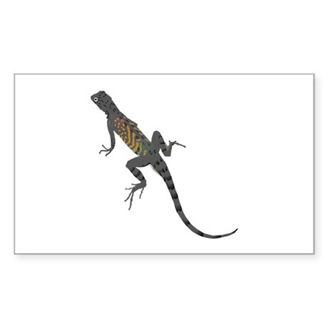 Lizard Rectangle Sticker