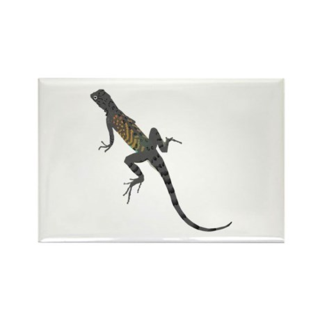 Lizard Rectangle Magnet