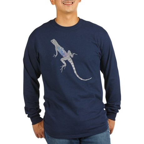 Lizard Long Sleeve Dark T-Shirt