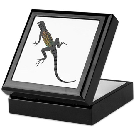 Lizard Keepsake Box