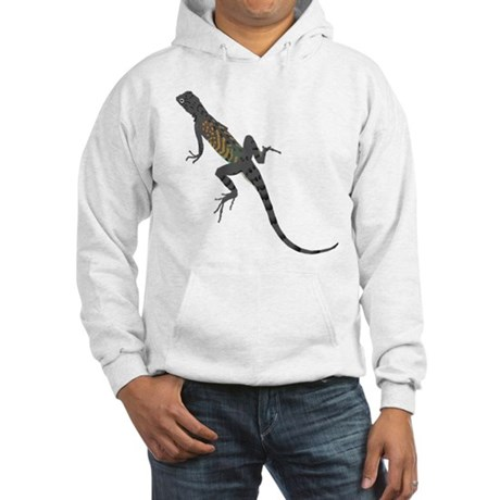 Lizard Hooded Sweatshirt