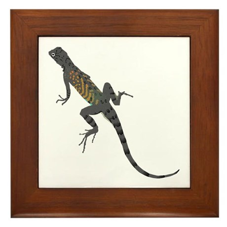 Lizard Framed Tile
