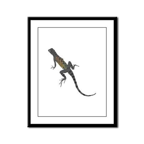 Lizard Framed Panel Print