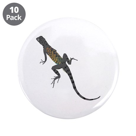 "Lizard 3.5"" Button (10 pack)"