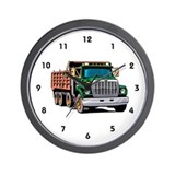 Dump Truck Wall Clock
