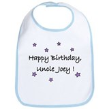 Happy B'Day Uncle Joey Bib